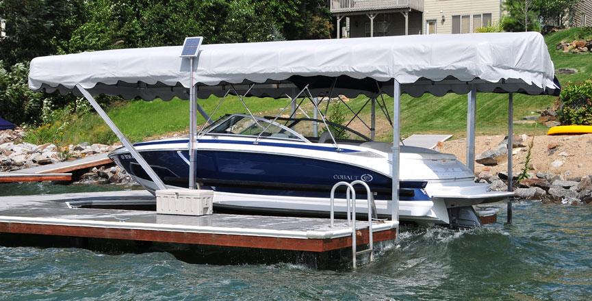 Hewitt Boat Lift Odonnells Docks