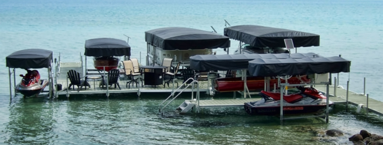 Pontoon Boat Lift With Canopy Amp Have A Question About Our